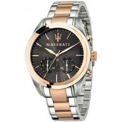 Купить Maserati Мужские Часы Traguardo R8873612003 Кварцевый Хронограф