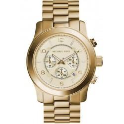 Купить Michael Kors Мужские Часы Runway MK8077 Хронограф
