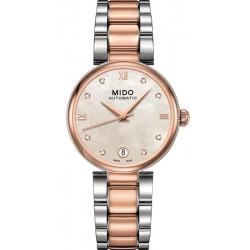 Купить Mido Женские Часы Baroncelli II M0222072211610 Бриллианты Автоматический