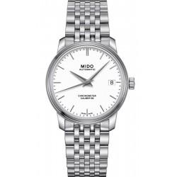 Купить Mido Женские Часы Baroncelli III COSC Chronometer Automatic M0272081101100