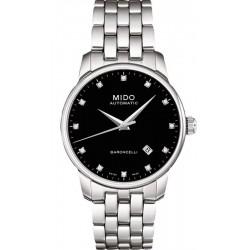 Купить Mido Мужские Часы Baroncelli II M86004681 Бриллианты Автоматический