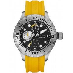 Купить Nautica Мужские Часы BFD 100 A15107G Многофункциональный