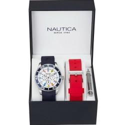 Nautica Мужские Часы NST 07 Flag Box Set NAI13502G Многофункциональный