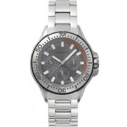 Купить Nautica Мужские Часы Auckland NAPAUC002BR Многофункциональный