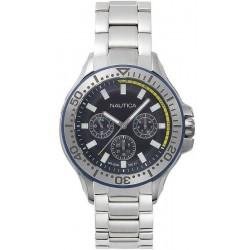 Купить Nautica Мужские Часы Auckland NAPAUC003BR Многофункциональный