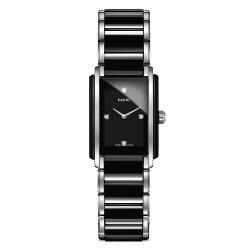 Купить Rado Женские Часы Integral Diamonds S Quartz R20613712 Керамика Бриллианты