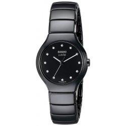 Купить Rado Женские Часы True S Jubilé Quartz R27655762 Керамика Бриллианты