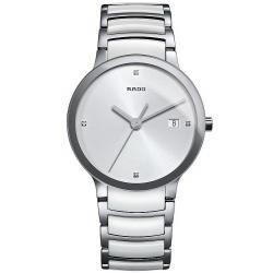 Купить Rado Мужские Часы Centrix Diamonds L Quartz R30927722 Керамика Бриллианты