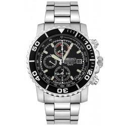 Купить Seiko Мужские Часы Alarm Chronograph Quartz SNA225P1