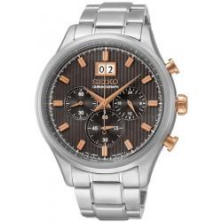 Купить Seiko Мужские Часы Neo Sport SPC151P1 Хронограф Quartz