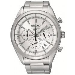 Купить Seiko Мужские Часы Neo Sport SSB085P1 Хронограф Quartz