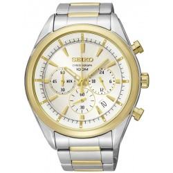 Купить Seiko Мужские Часы Neo Sport SSB090P1 Хронограф Quartz