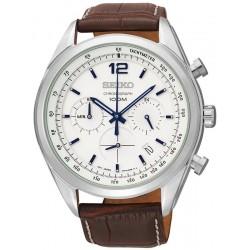 Купить Seiko Мужские Часы Neo Sport SSB095P1 Хронограф Quartz
