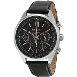 Купить Seiko Мужские Часы Neo Sport SSB159P1 Хронограф Quartz