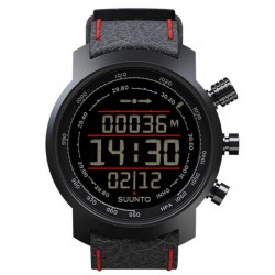 Купить Suunto Elementum Terra Black / Red Leather Мужские Часы SS019171000