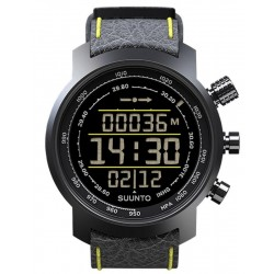 Купить Suunto Elementum Terra Black/Yellow Leather Мужские Часы SS019997000