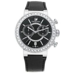 Купить Swarovski Женские Часы Citra Sphere Chrono Black 5027131 Хронограф