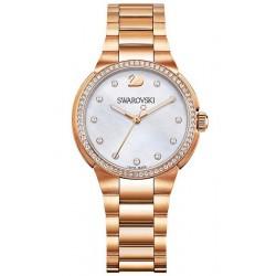 Купить Swarovski Женские Часы City Mini Rose Gold Tone 5221176 Перламутр
