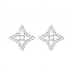 Купить Swarovski Женские Серьги Sparkling Dance 5364218