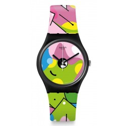 Swatch Женские Часы Gent Image Of Graffiti GB317