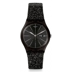 Swatch Женские Часы Gent Glitternoir GB755