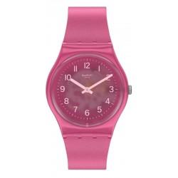 Swatch Женские Часы Gent Blurry Pink GP170