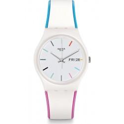 Купить Swatch Унисекс Часы Gent Edgyline GW708
