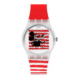 Swatch Mickey Mouse Часы Mouse Marinière GZ352