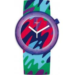 Купить Swatch Унисекс Часы POPthusiasm PNP101