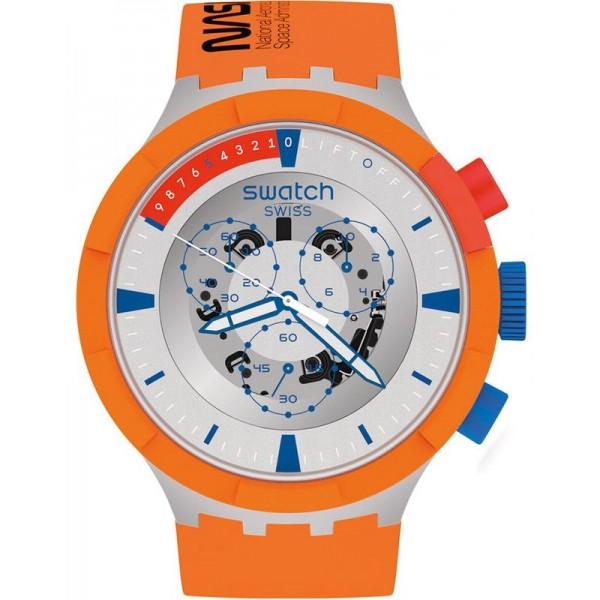 Купить Swatch Часы Big Bold Chrono Launch NASA SB04Z401