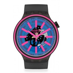 Swatch Часы Big Bold Blue Taste SO27B111