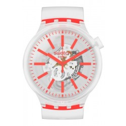 Swatch Часы Big Bold Orangeinjelly SO27E102
