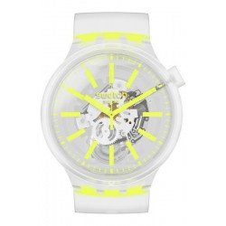 Swatch Часы Big Bold Yellowinjelly SO27E103