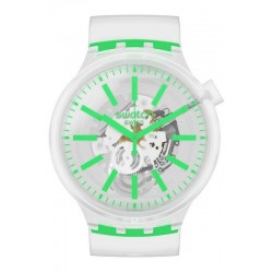 Swatch Часы Big Bold Greeninjelly SO27E104