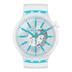 Swatch Часы Big Bold Blueinjelly SO27E105