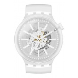 Swatch Часы Big Bold Whiteinjelly SO27E106