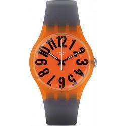 Swatch Унисекс Часы New Gent Larancio SUOO103