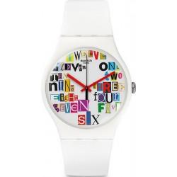 Swatch Унисекс Часы New Gent Multi Collage SUOW132
