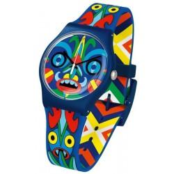 Купить Swatch Mika Унисекс Часы New Gent Kukulakuku SUOZ171