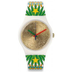 Купить Swatch Mika Унисекс Часы New Gent Mumu-Cucurrucucu SUOZ210