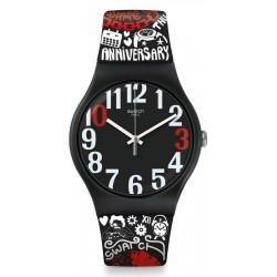 Swatch Club Унисекс Часы New Gent 30 And Ticking SUOZ322