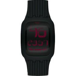 Купить Swatch Мужские Часы Digital Touch Night SURB102