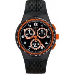 Купить Swatch Мужские Часы Chrono Plastic Nerolino SUSB408 Хронограф