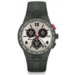 Купить Swatch Мужские Часы Chrono Plastic Verdone SUSG405 Хронограф
