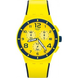 Купить Swatch Унисекс Часы Chrono Plastic Solleore SUSJ401 Хронограф