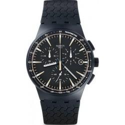 Купить Swatch Мужские Часы Chrono Plastic Meine Spur SUSN407 Хронограф