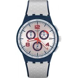 Купить Swatch Унисекс Часы Chrono Plastic Humpy Bumpy SUSN411 Хронограф