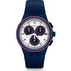 Купить Swatch Мужские Часы Chrono Plastic Parabordo SUSN412 Хронограф