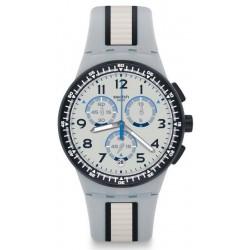 Купить Swatch Унисекс Часы Chrono Plastic Mirkolino SUSS401 Хронограф