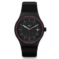Купить Swatch Мужские Часы Sistem51 Sistem Damier SUTB406 Автоматический
